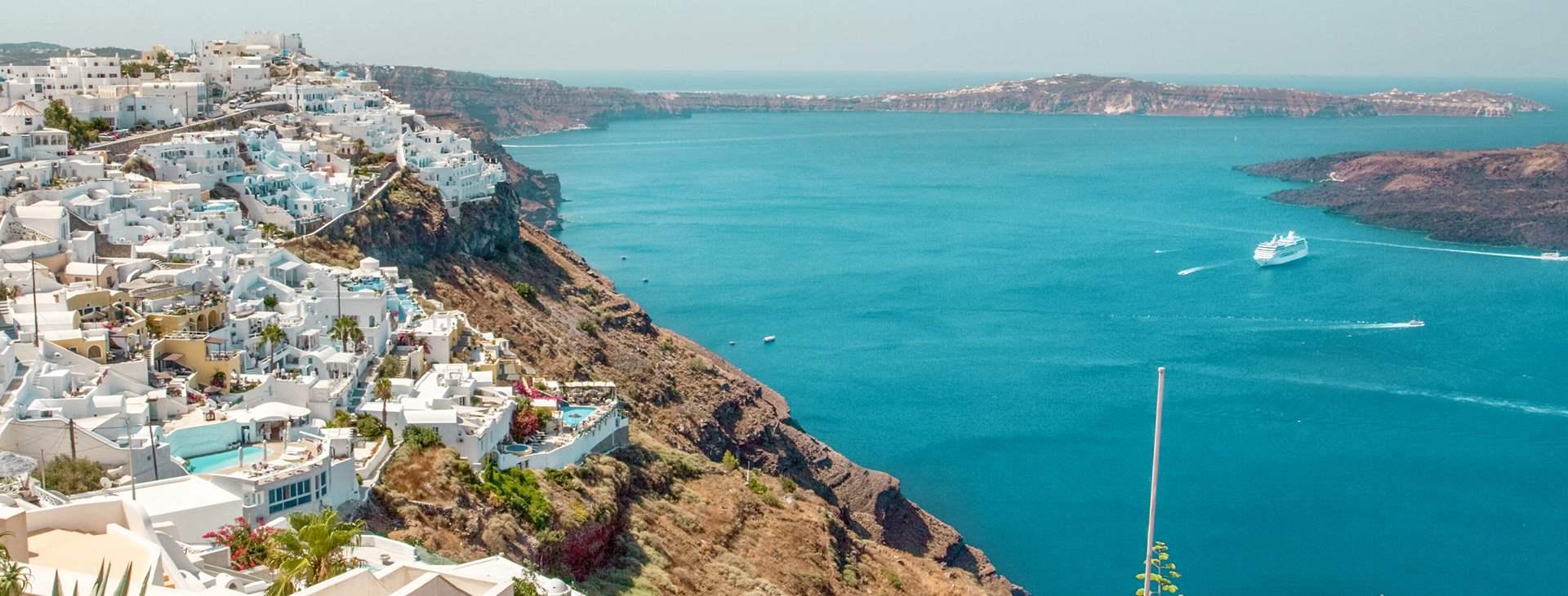 Santorini Find Billige Rejser Til Santorini Spies