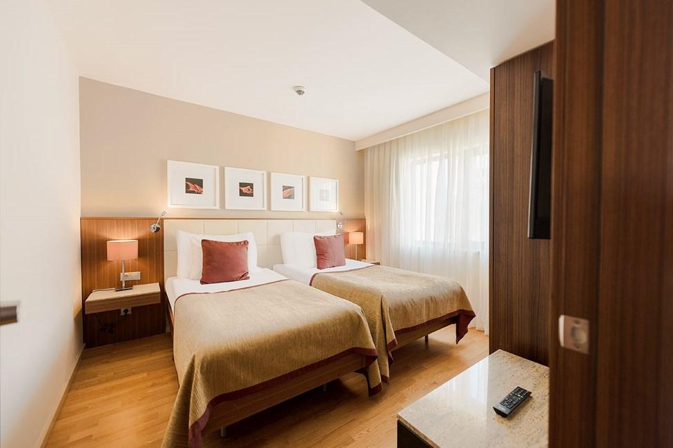 3-værelses lejlighed med fire senge