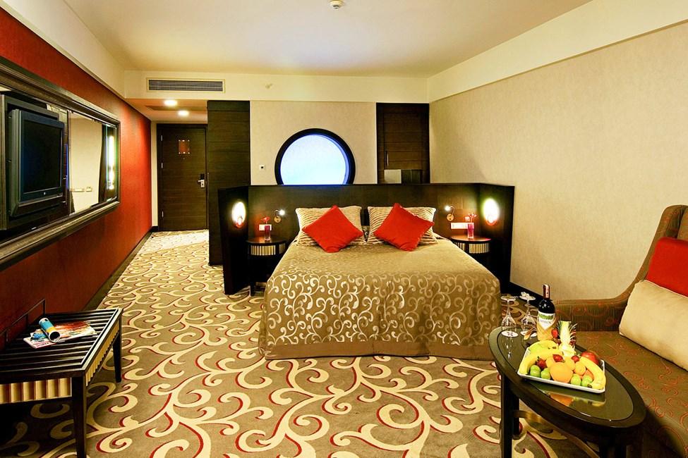 Soveværelset i dobbeltværelse