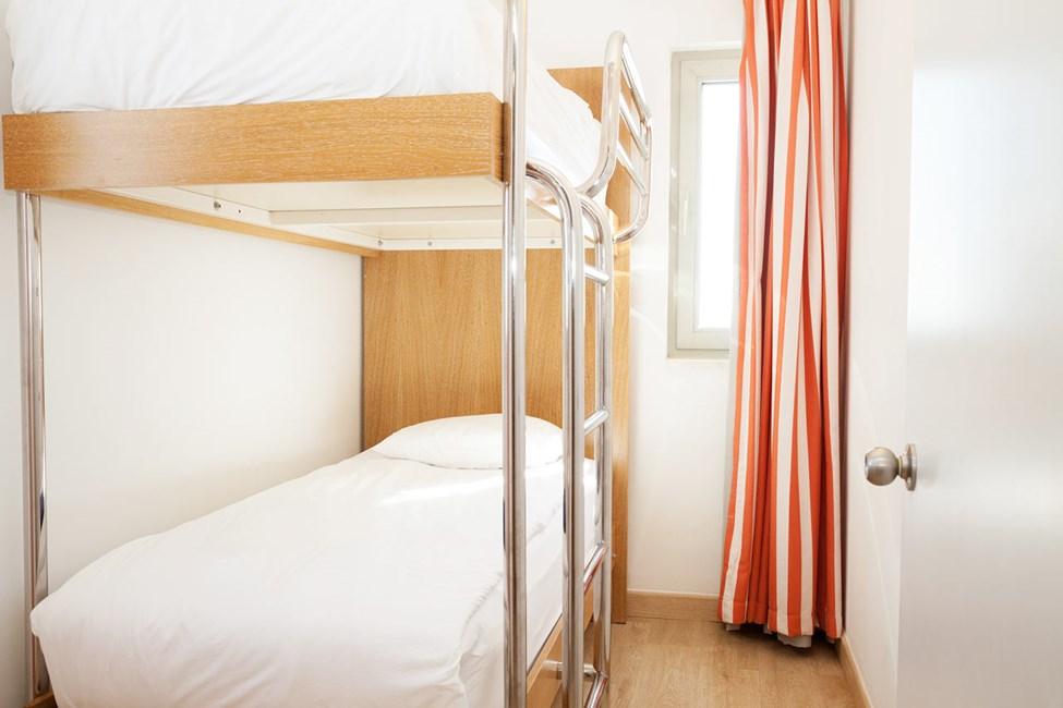 3-værelses Family-lejlighed med balkon mod poolområdet