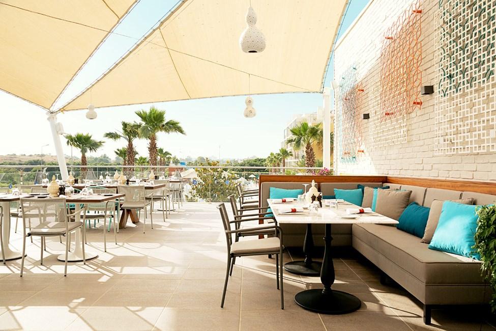 Fino Restaurant & Grill på tagterrassen