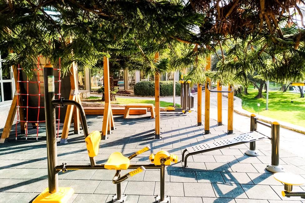 Udendørs motionsrum