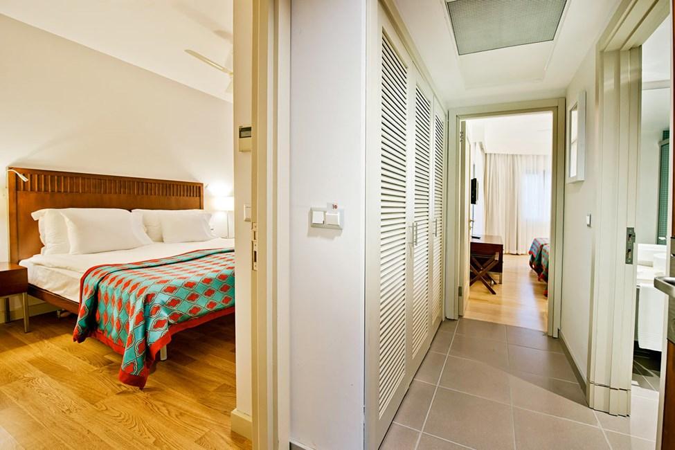 Dobbeltværelse med to rum