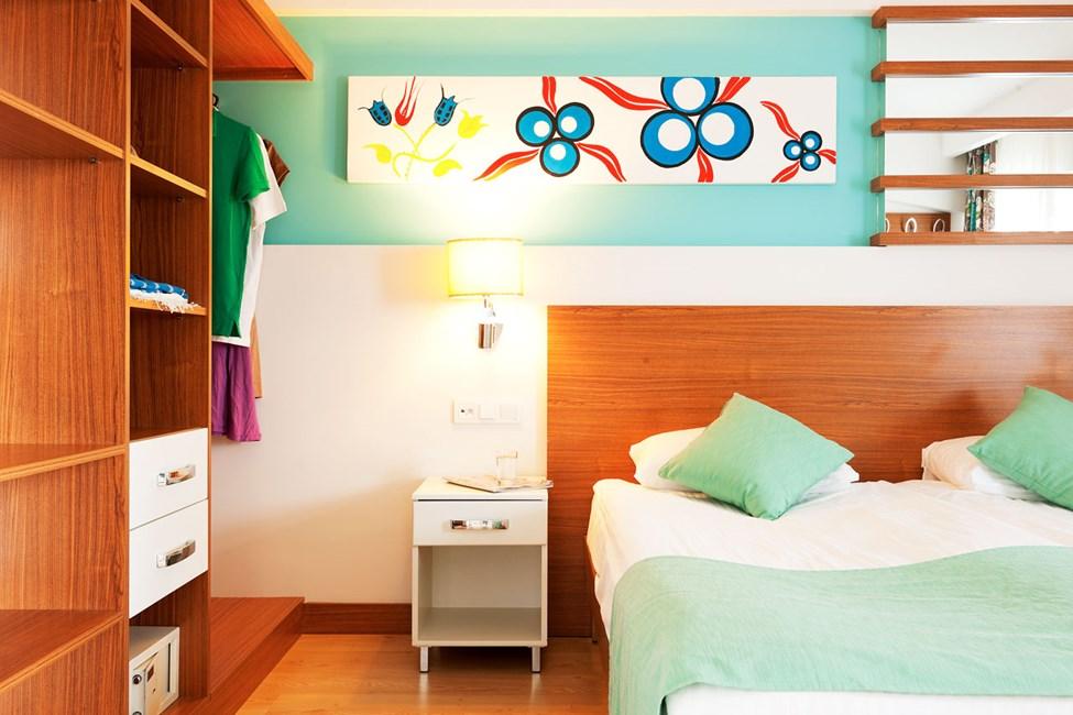 Soveværelse i 2- og 3-værelses lejligheder