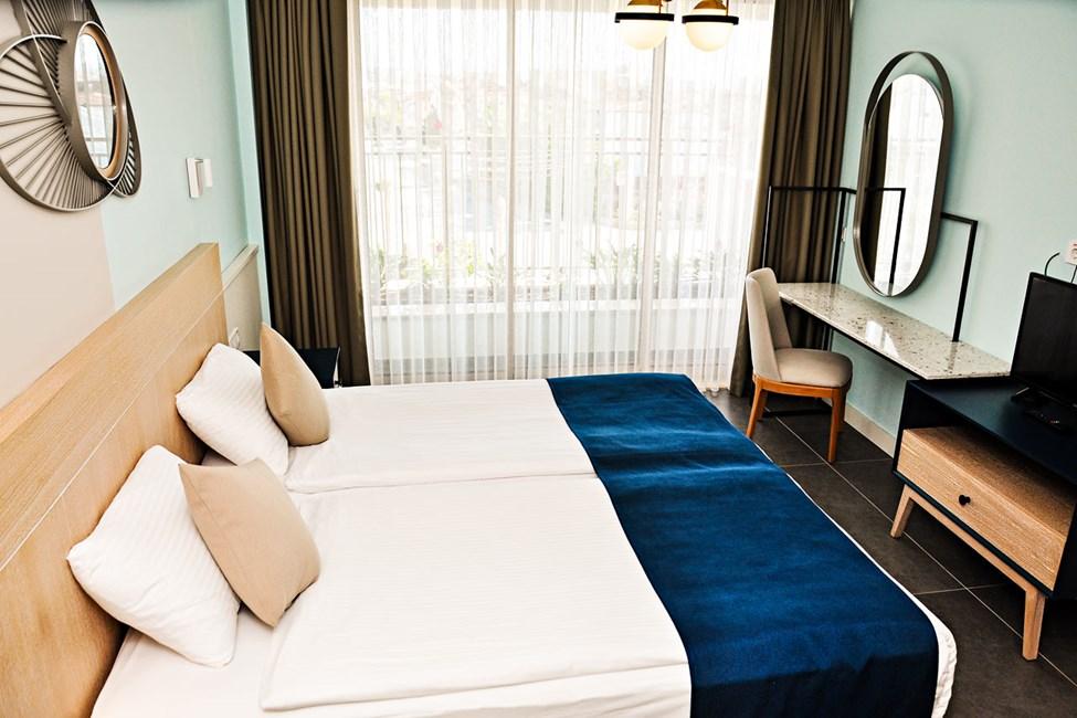 2-værelses lejlighed superior med balkon