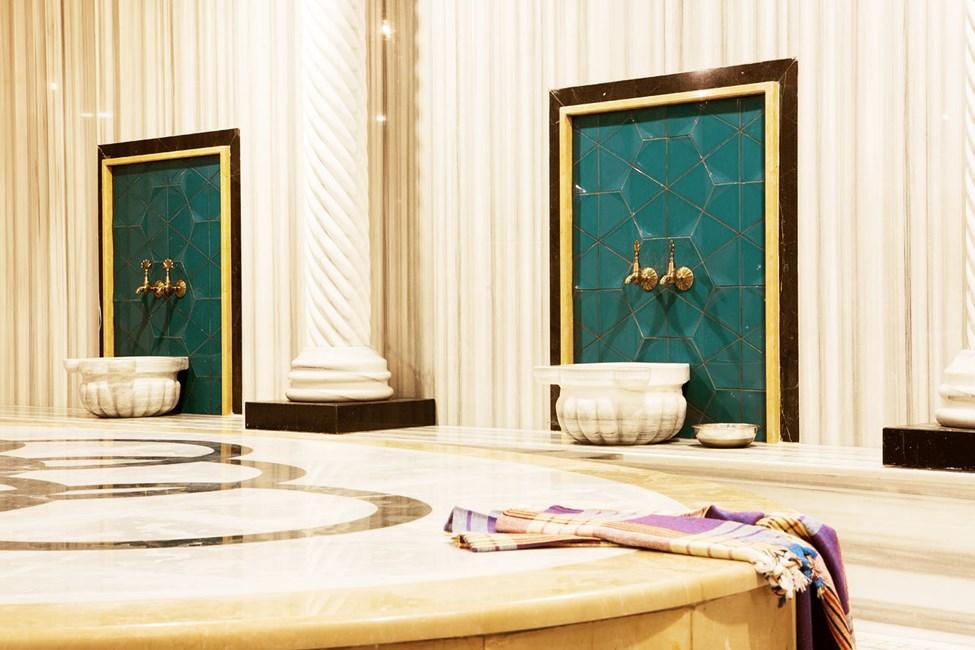 Nyd en skøn behandling i hotellets hamam