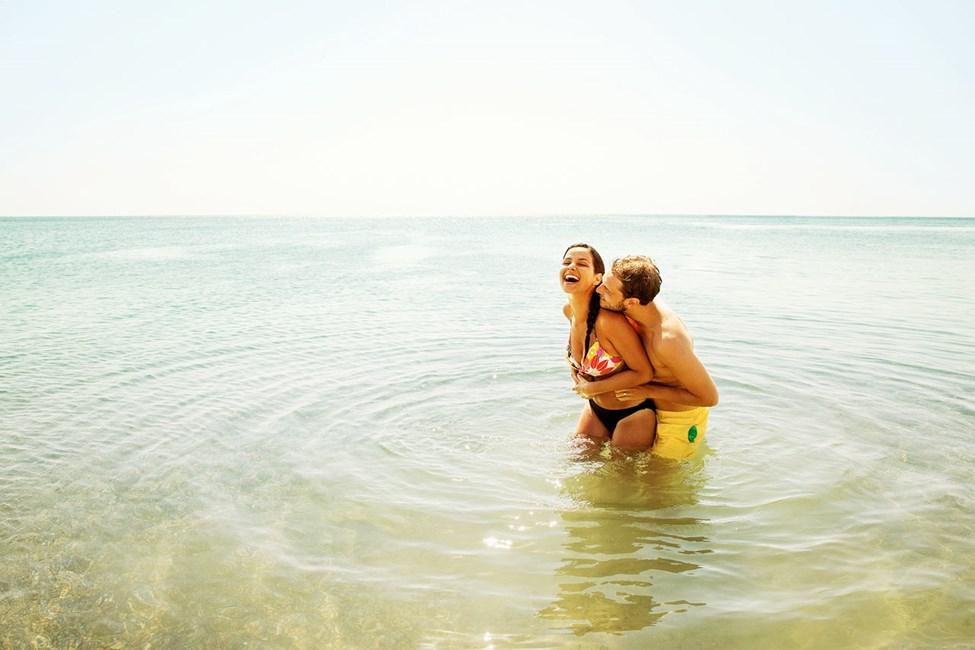 Intet slår en dukkert i Middelhavet på en varm sommerdag