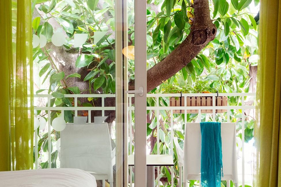 Classic Room med lille balkon uden udsigt