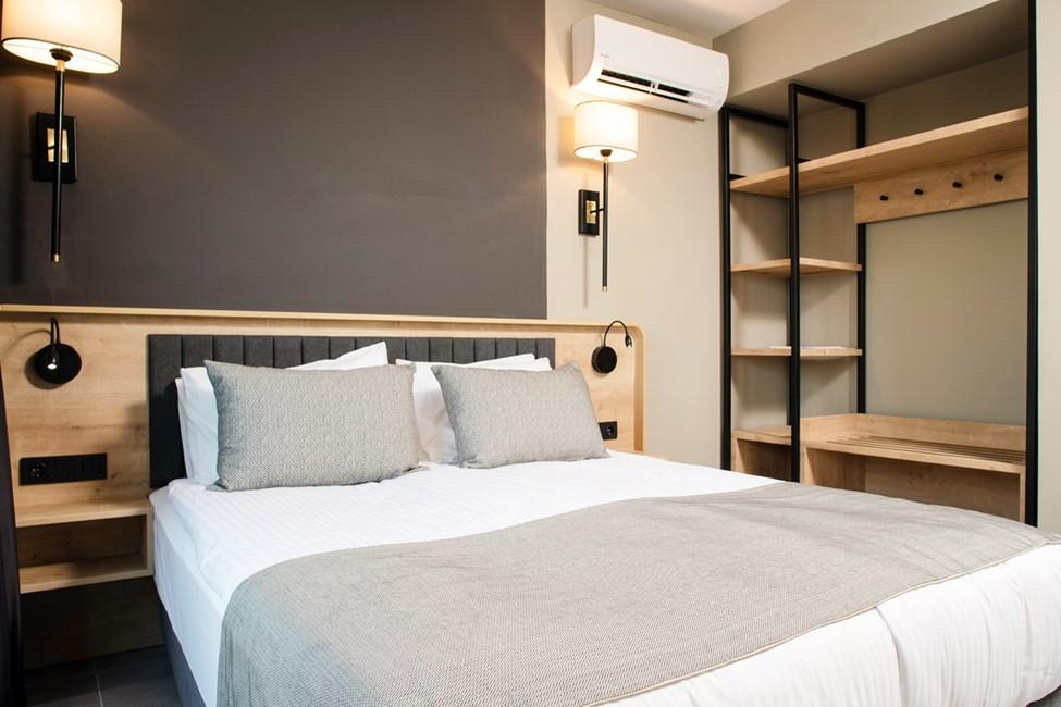 Soveværelse i 2-værelses lejligheder