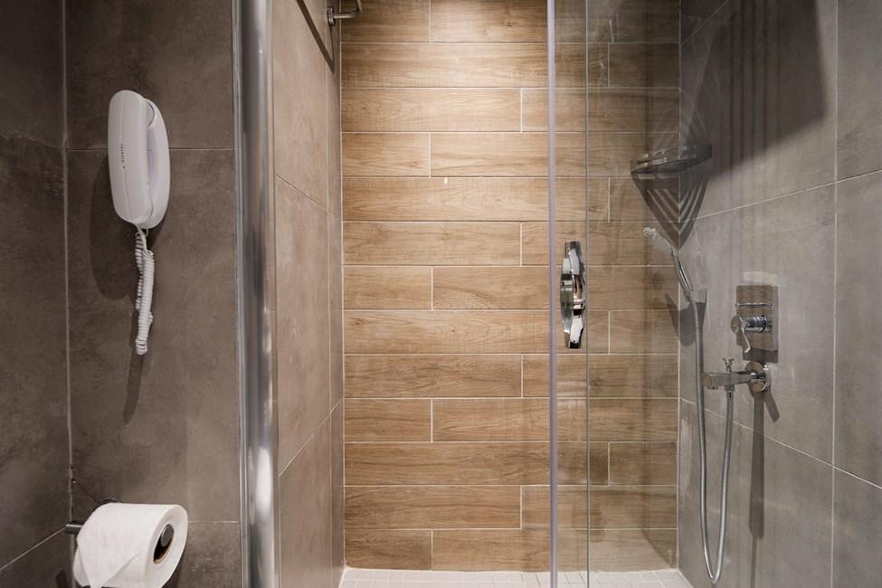 Badeværelse i samtlige lejlighedstyper