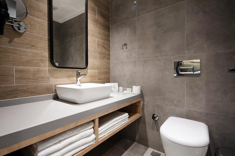 Badeværelse i alle lejlighedstyper