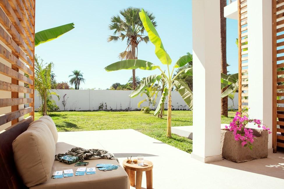 1-værelses Classic Suite med terrasse mod omgivelserne
