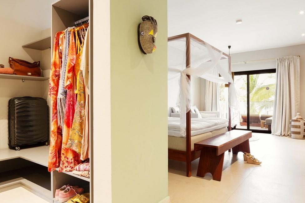 1-værelses Classic Suite med balkon mod havet - myggenet på forespørgsel