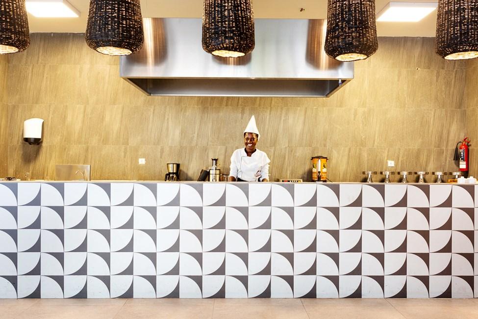 Buffetrestauranten på Sunprime Tamala Beach