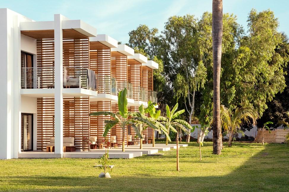 1-værelses Classic Suite med balkon eller terrasse mod omgivelserne