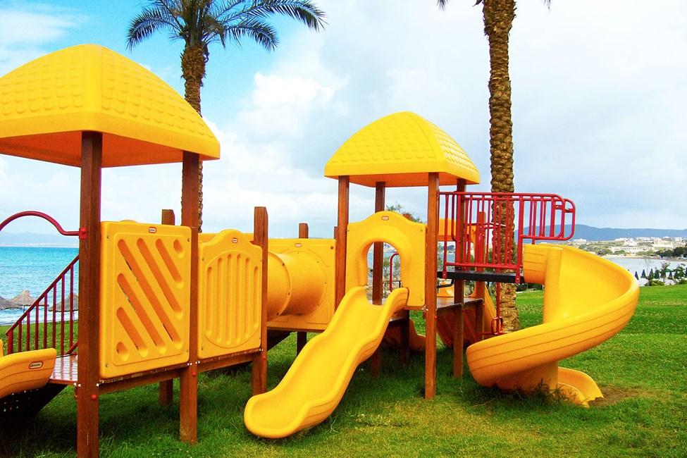 Sjov legeplads for de mindste børn