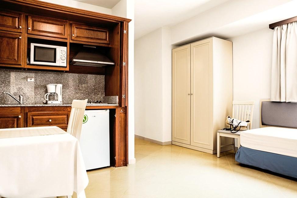 2-værelses lejlighed mod poolområdet
