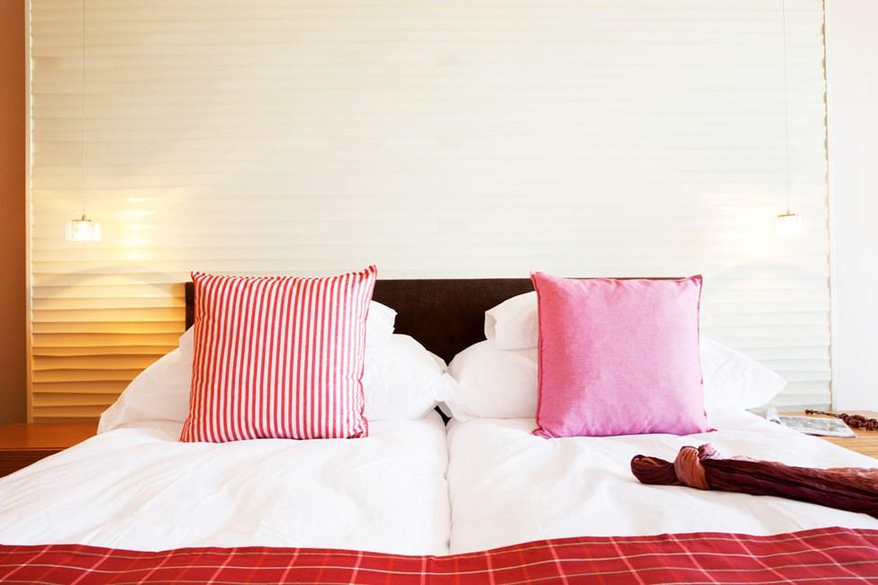 Alle Classic Room er moderne indrettet og har balkon eller terrasse