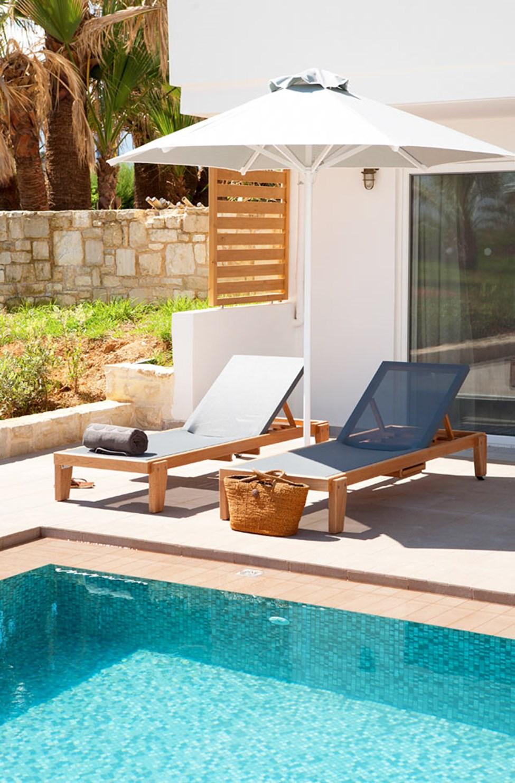Classic Suite med terrasse og direkte pooladgang