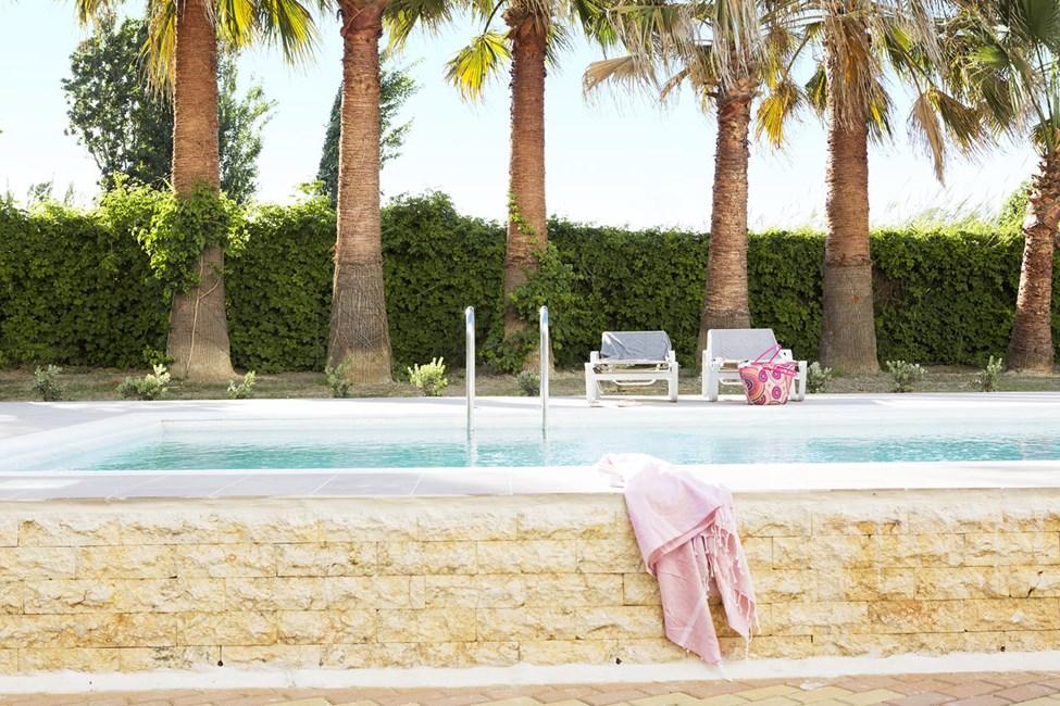 Classic Room med terrasse og direkte adgang til privat, delt pool
