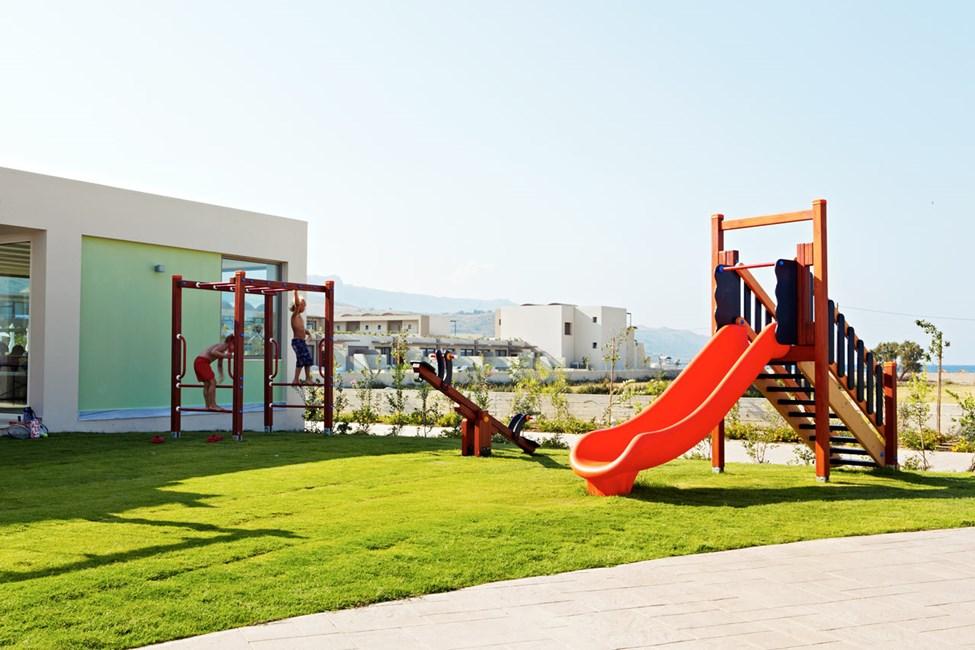 Legepladsen ved børneklubben