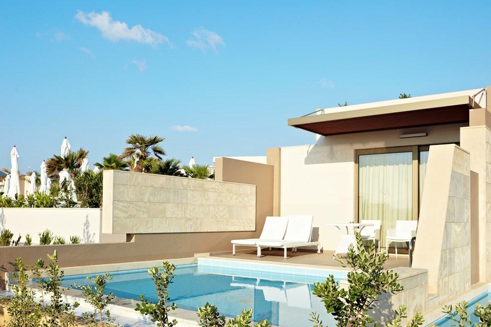 Dobbeltværelse med privat pool
