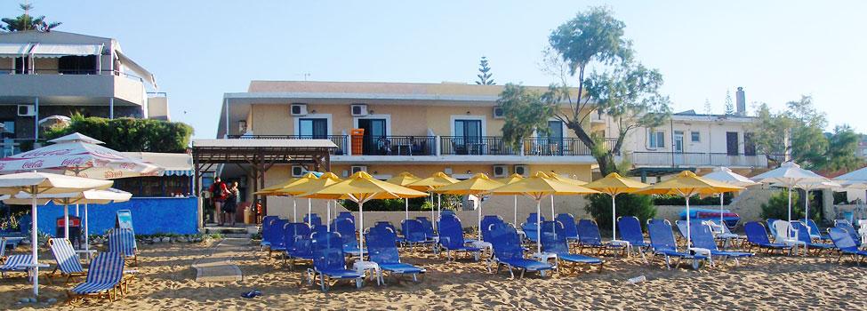Camelia Studios & Apartments, Kato Stalos & Kalamaki (Chaniakysten), Kreta, Grækenland
