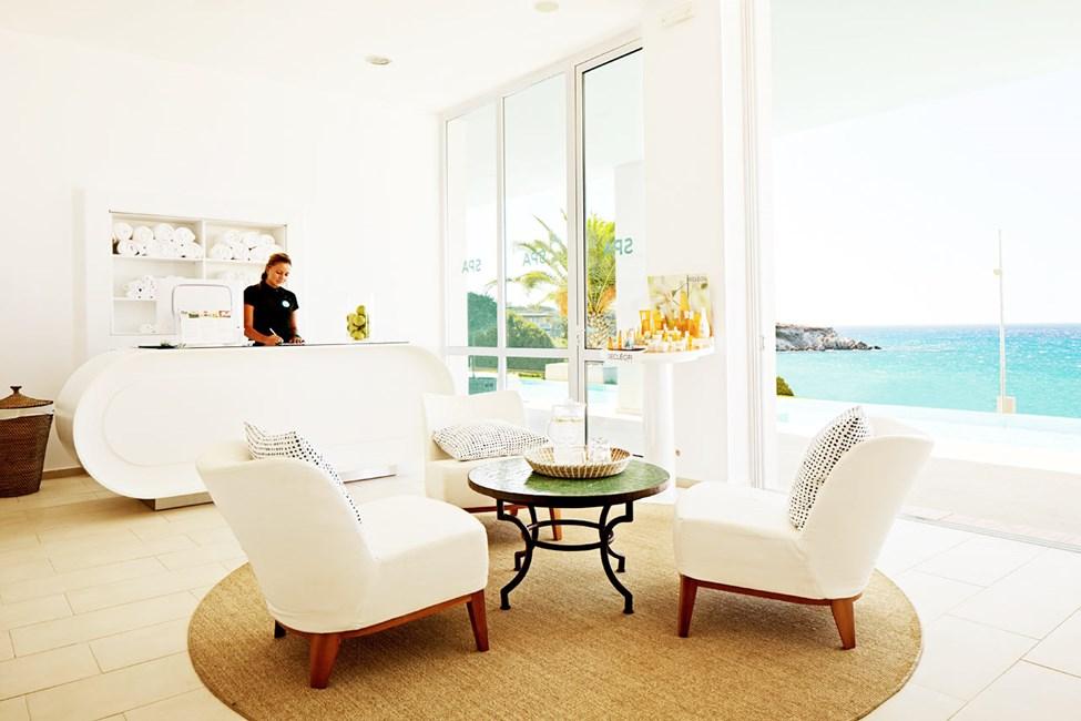 Spaafdelingen på søsterhotellet Ocean Beach Club