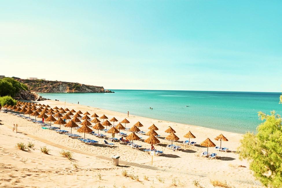 Sunwing Makrigialos Beach ligger ved en af Kretas bedste strande.