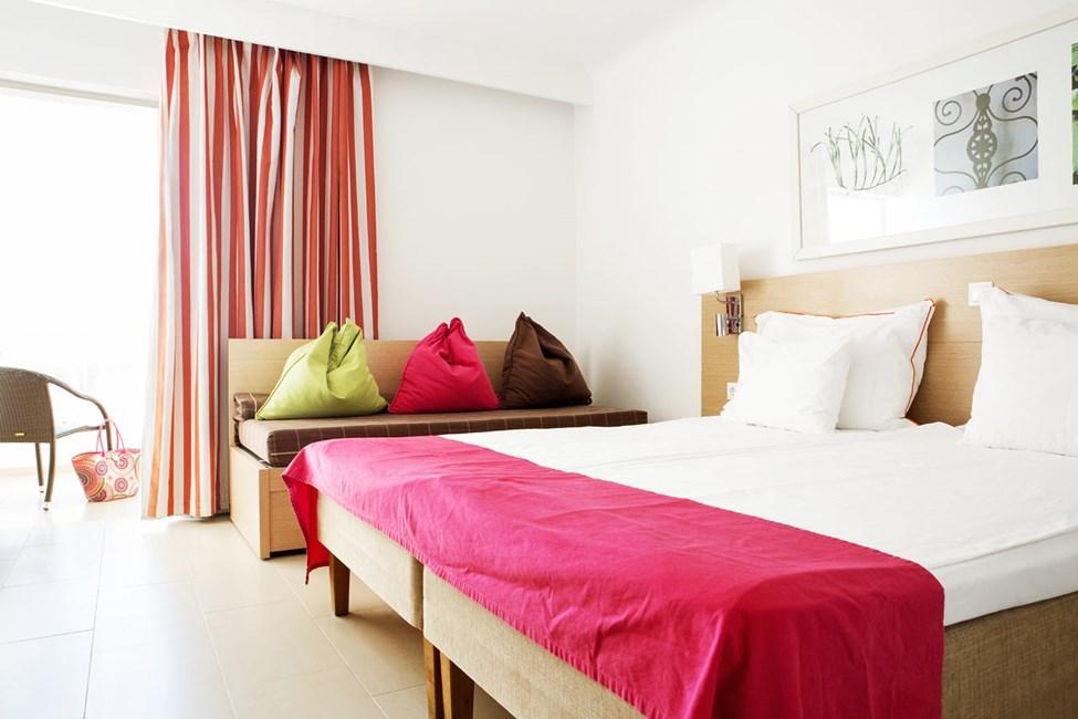 1-værelses Small Family-lejlighed med balkon og havudsigt i Apollon
