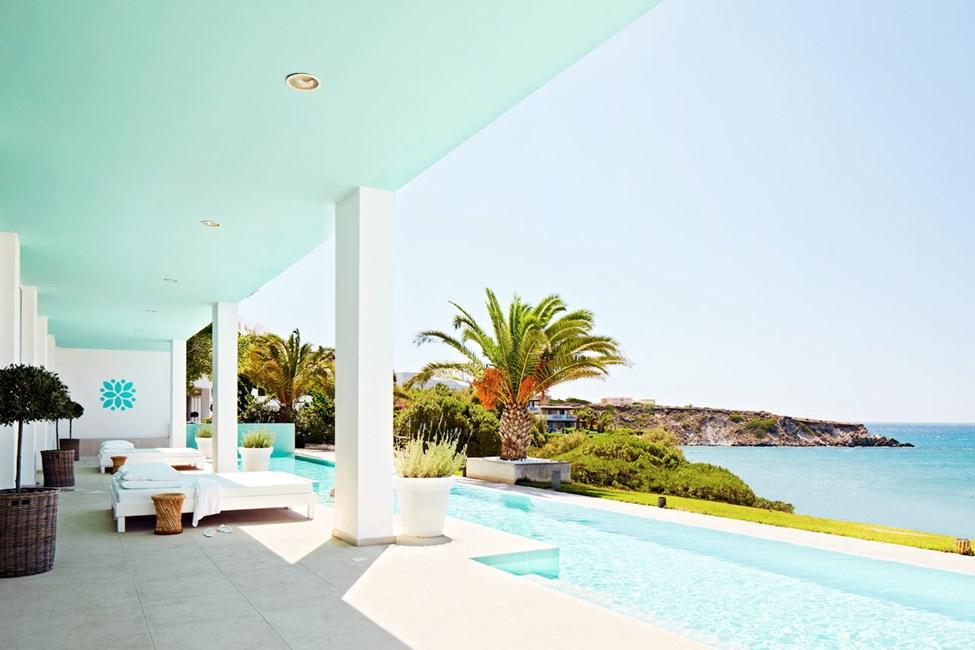 Beach Club Spa Pool - her kan du slappe af efter din spa-behandling