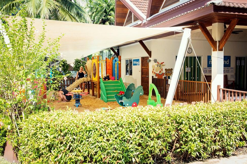 I Mini Land kan børnene lege og deltage i aktiviteter
