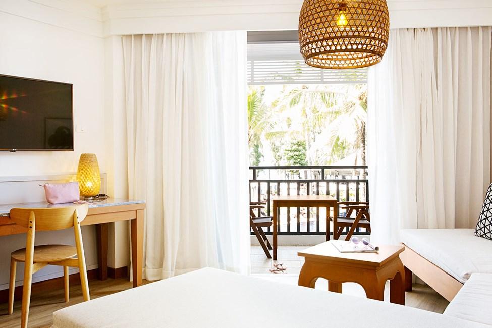 1-værelses Royal Family Suite med balkon mod poolområdet