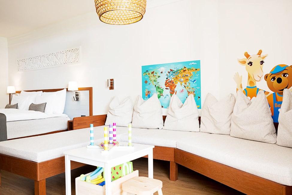 1-værelses Lollo & Bernie-suite med terrasse mod poolområdet