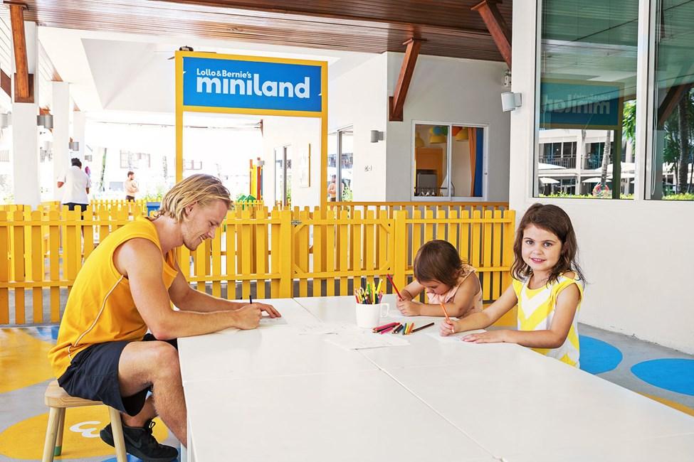 I Mini Land kan børnene lave en masse sjov
