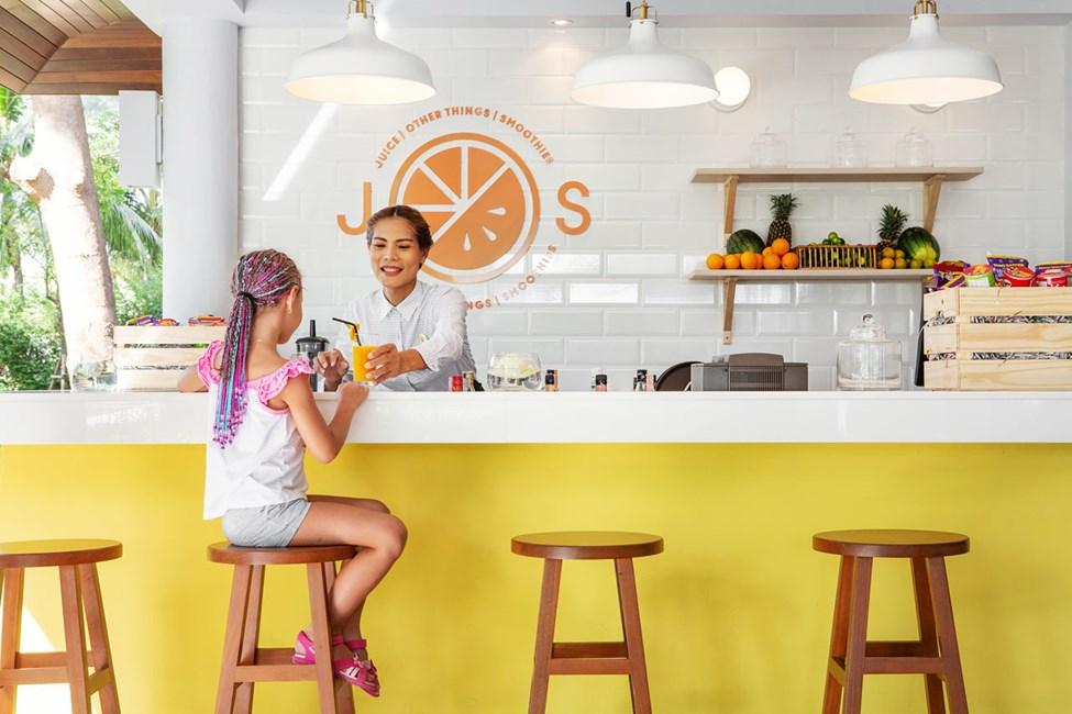 J.O.S serverer bl.a. juice, smoothies, kaffe og crepes
