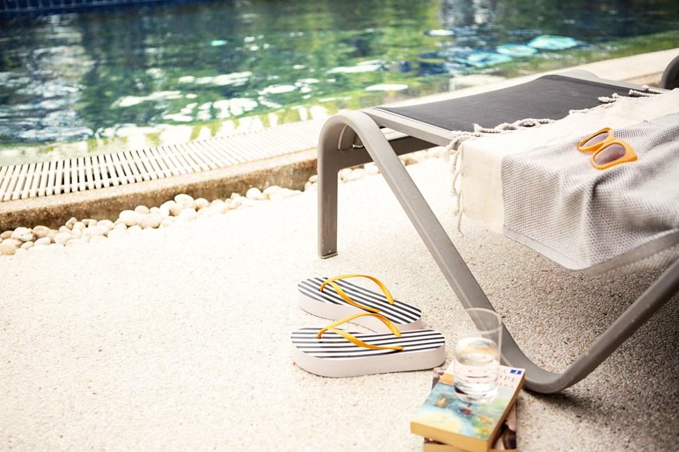 1-værelses Royal Pool Suite med terrasse med direkte adgang til hotellets pool