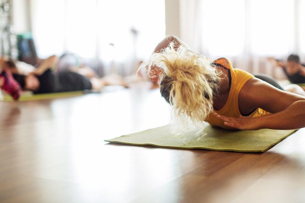 På Sunprime kan du deltage i træningshold som f.eks. Core og Powerstep