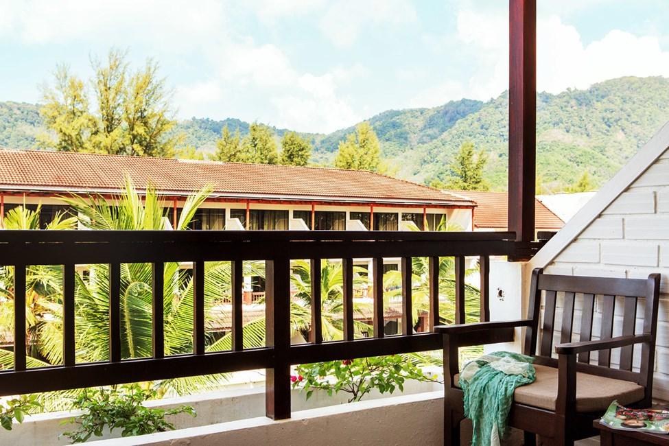 Dobbeltværelse Classic Suite med balkon mod haven