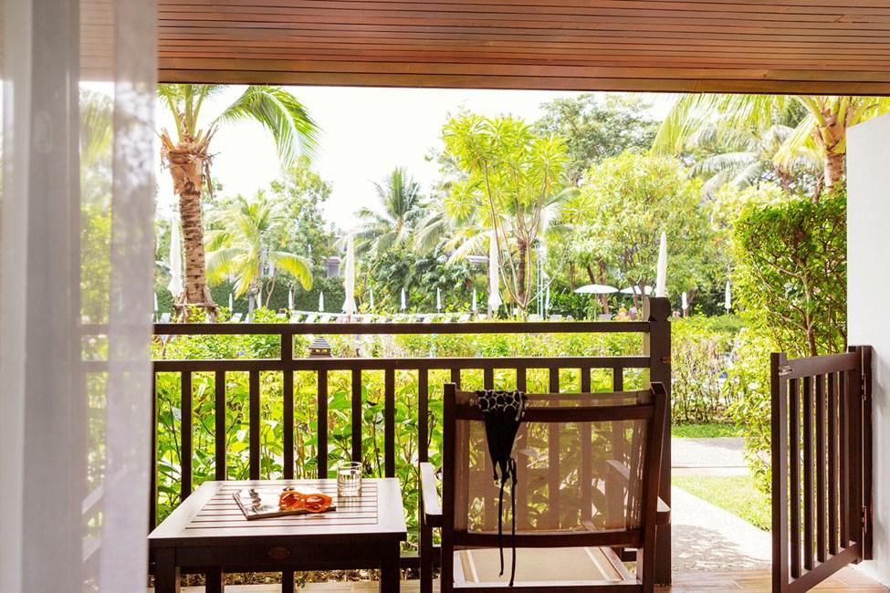 Classic Suite med terrasse mod poolområdet