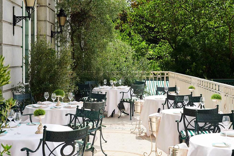 Terrasse på The Ritz London