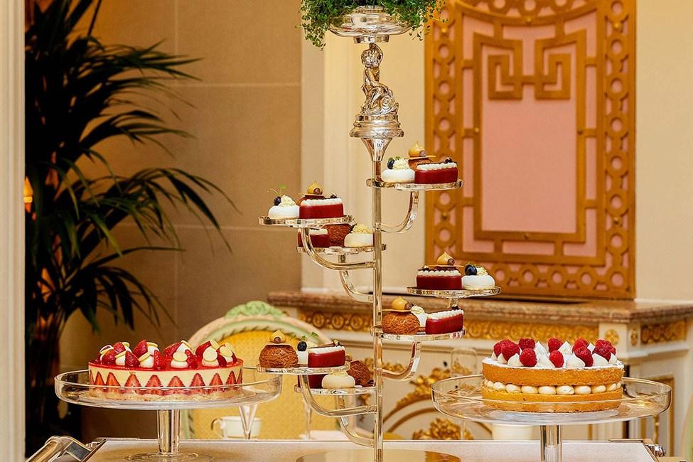 Hotellets populære afternoon tea