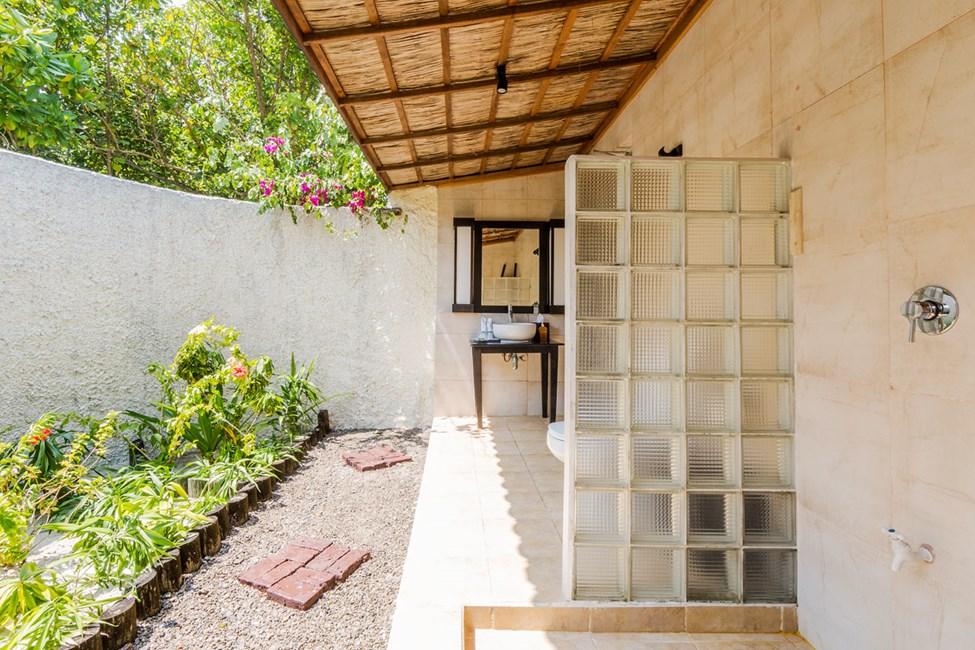 Badeværelser i Garden Bungalow