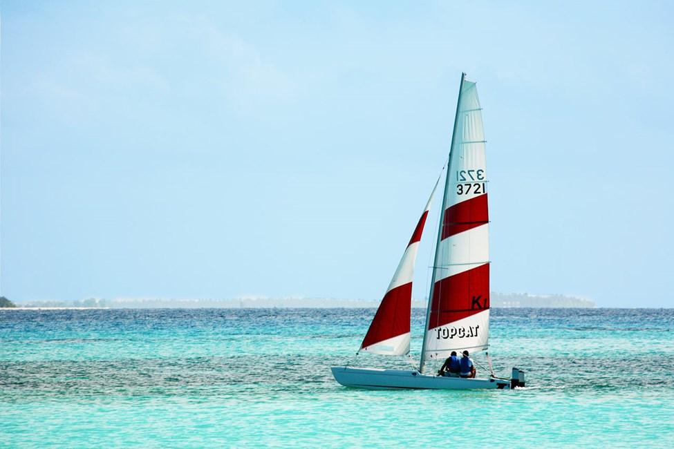 Kuredu Island Resort & Spa tilbyder forskellig slags vandsport