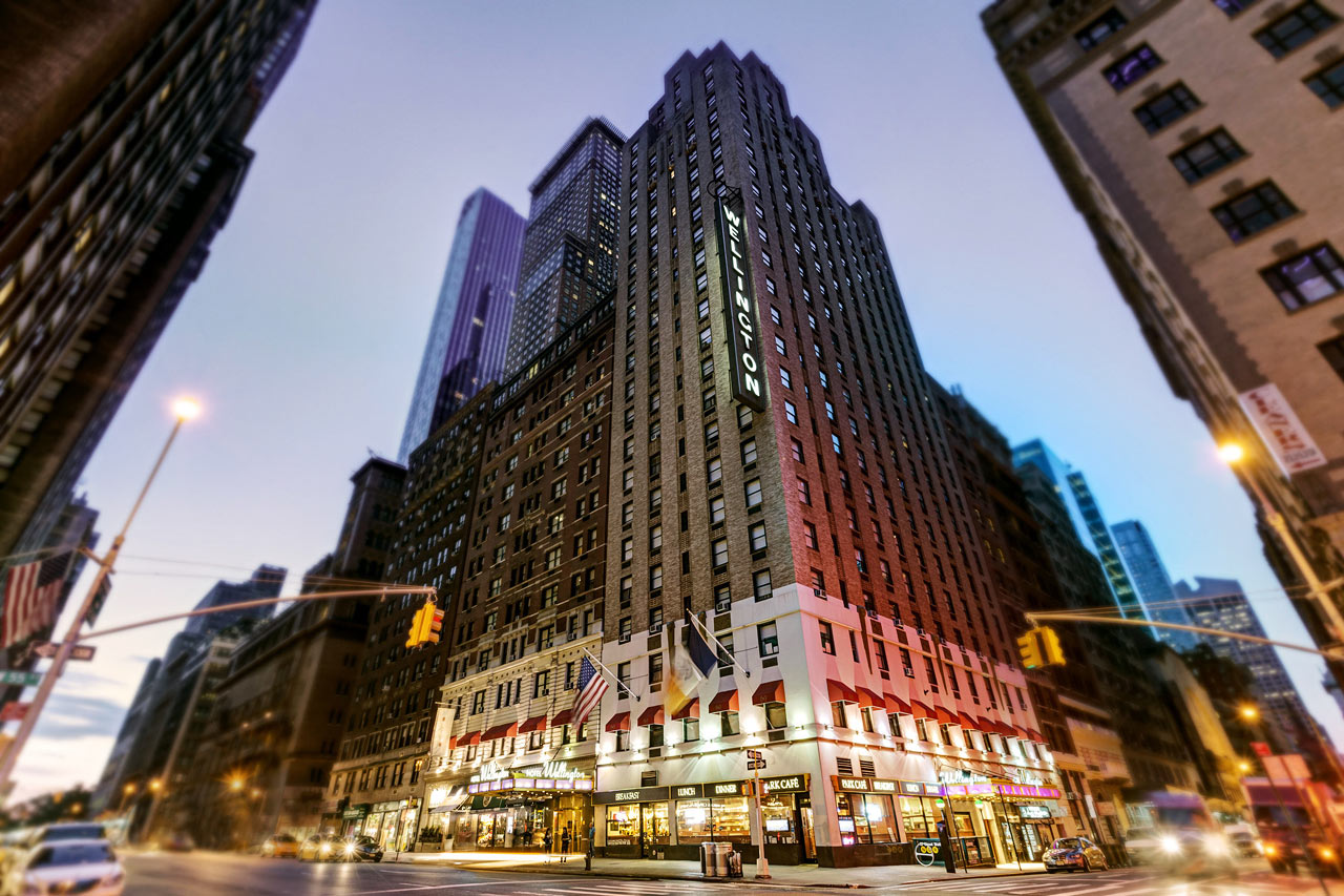 Wellington Hotel Bestil hotel i New York hos Spies