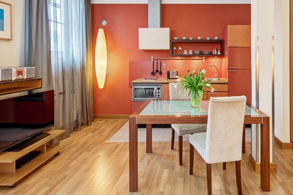 1-værelses lejlighed Studio