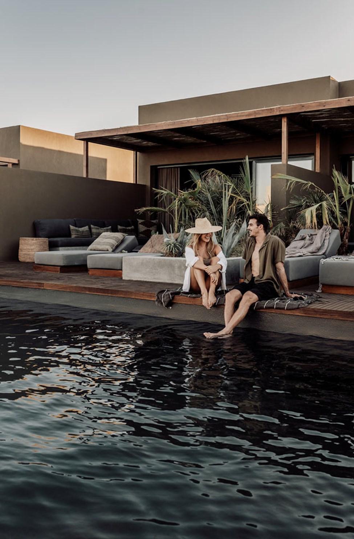 Juniorsuite med privat, delt pool