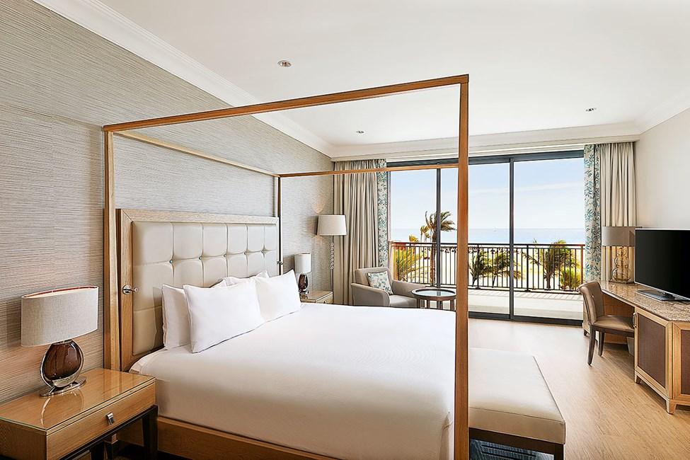 Suite med to rum og havudsigt