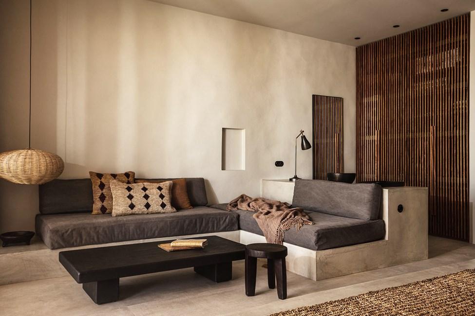 Suite med privat pool