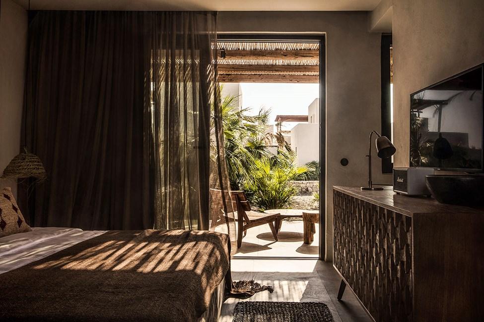Dobbeltværelse med terrasse